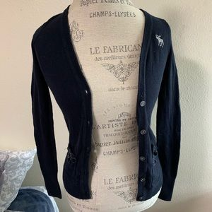 Abercrombie Kids buttoned cardigan